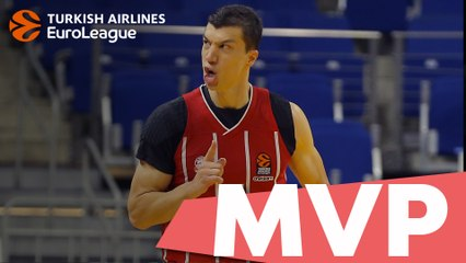 Turkish Airlines EuroLeague MVP of the Week: Vladimir Lucic, FC Bayern Munich