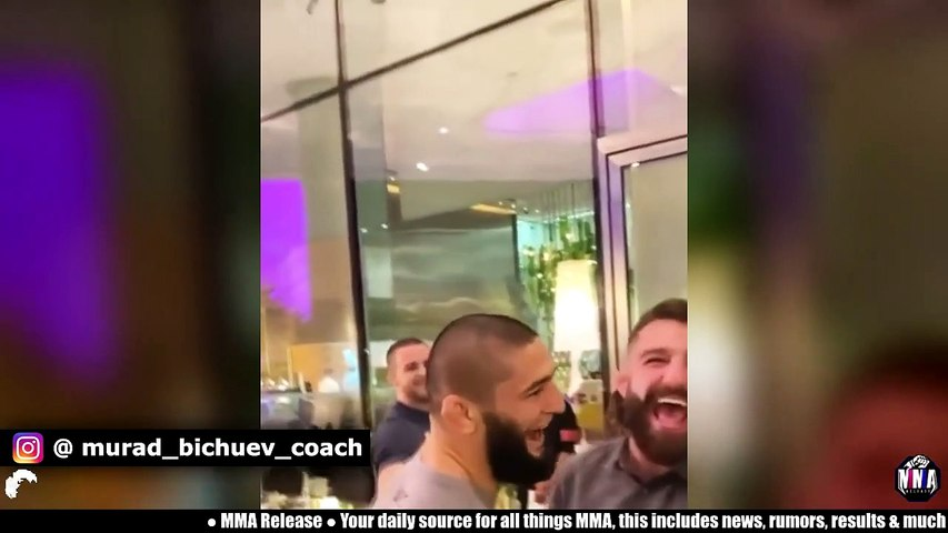 Conor McGregor will fight at 170lbs against Dustin Poirier, Khamzat Chimaev faces off with Michael