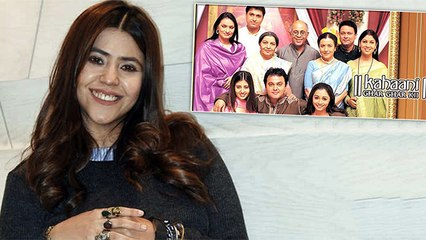 Ekta Kapoor Gets Nostalgic As Kahaani Ghar Ghar Kii Turns 20