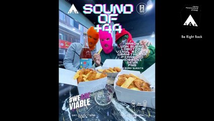 SOUND OF +44  X WEAREVIABLE