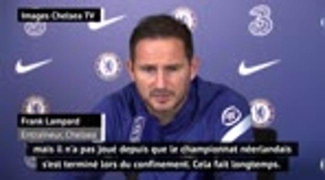 """5e j. - Lampard : """"On a hâte de voir jouer Ziyech"""""""