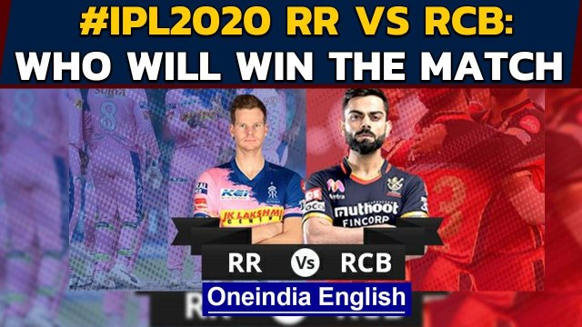 IPL 2020, RR vs RCB: Steve Smith and side eye win to keep play-offs hope alive   Oneindia News