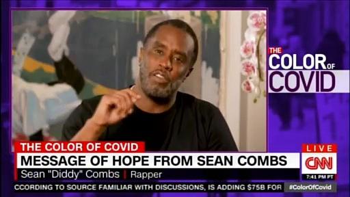 Message of Hope from Sean Combs. #COVID19 #CORONAVIRUS #CNN #News #SeanCombs