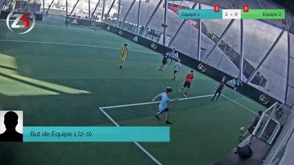 But de Equipe 1 (2-0)
