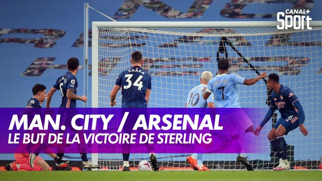 Le but de la victoire de Sterling contre Arsenal - Premier League, 5ème journée
