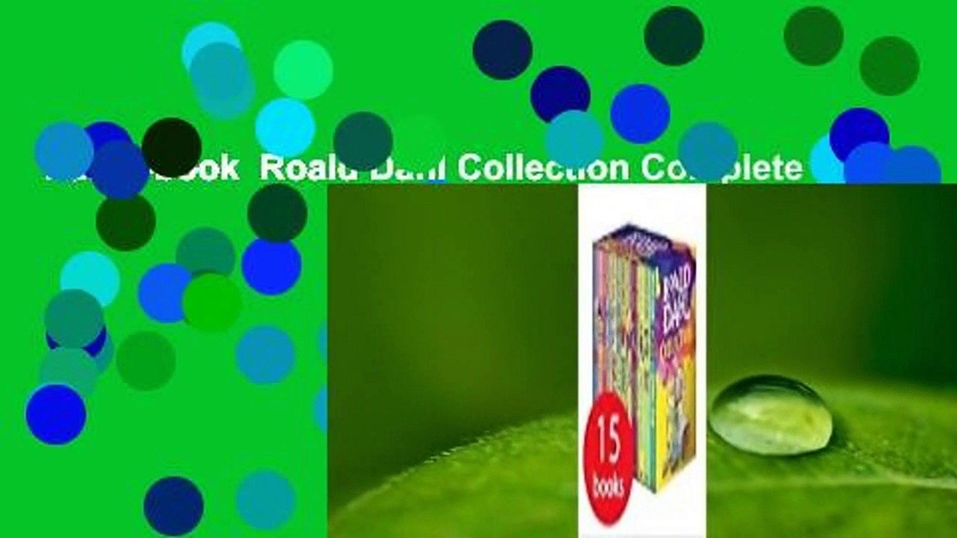 Full E Book Roald Dahl Collection Complete Video Dailymotion
