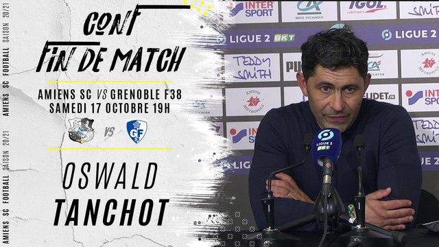 Conférence d'après match ASC GF38: Oswald Tanchot