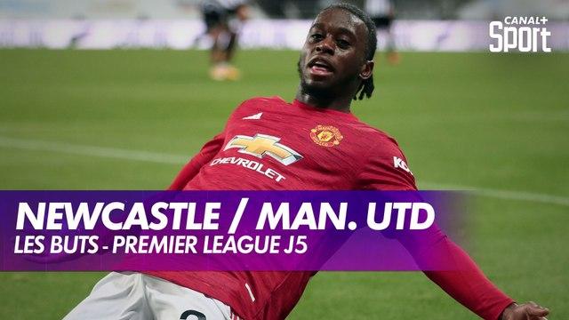 Les buts de Newcastle / Manchester United