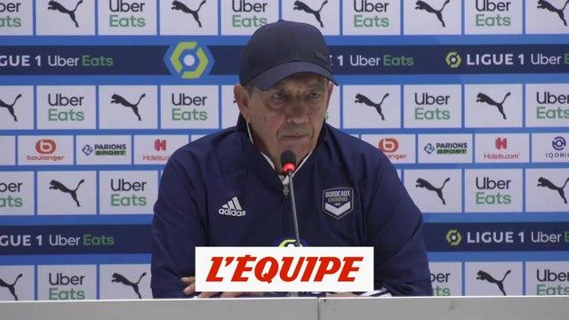 Gasset : « L'OM était bien au-dessus de nous » - Foot - L1 - Bordeaux