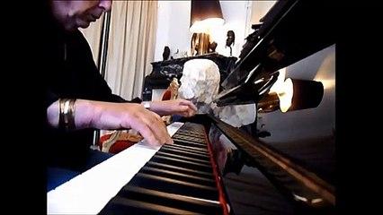 hommage à Samuel Paty, instituteur, impro piano vladimir mitz