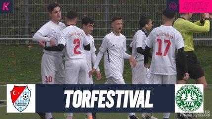 Traumhafter Saisonstart | Türkgücü München U17 – SV Waldperlach U17 (B-Junioren-Kreisliga 2)