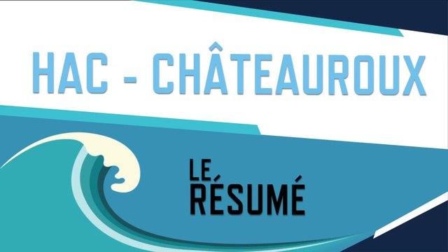 HAC - Châteauroux (1-1) : le résumé du match