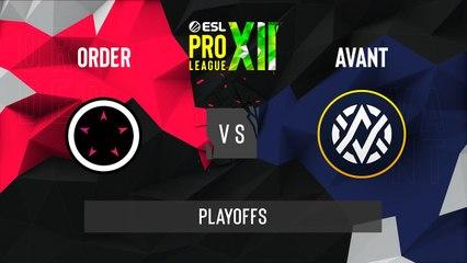 CSGO - AVANT vs. ORDER [Train] Map 2 - ESL Pro League Season 12 - Playoffs - OCE