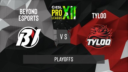 CSGO - TYLOO vs. Beyond [Mirage] Map 2 - ESL Pro League Season 12 - Playoffs - Asia