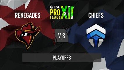 CSGO - Renegades vs. Chiefs [Dust2] Map 1 - ESL Pro League Season 12 - Playoffs - OCE