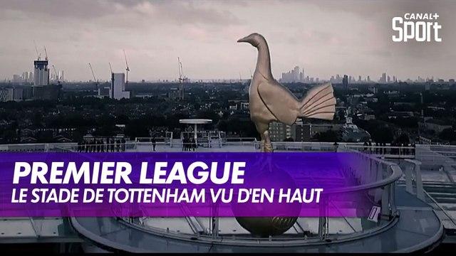 Sur le toit du Tottenham Hotspur Stadium