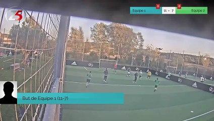 But de Equipe 1 (11-7)
