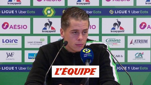 Hamouma : « On attend d'être menés pour se lâcher » - Foot - L1 - Saint-Etienne