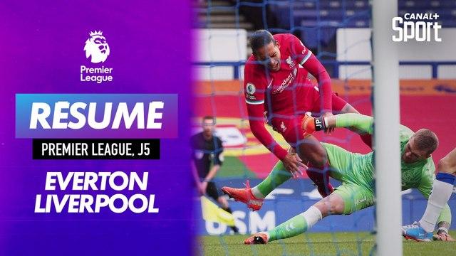 Le résumé du derby Everton - Liverpool en VO