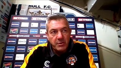 Castleford Tigers boss Daryl Powell after 48-6 loss at Hull FC