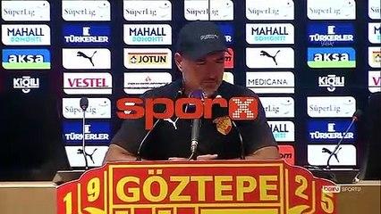 """Göztepe'de tepki: """"Penaltı öncesi faul var"""""""