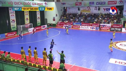 Highlights | S. Sanatech Khánh Hòa - Thái Sơn Nam | Futsal HDBank VĐQG 2020 | VFF Channel