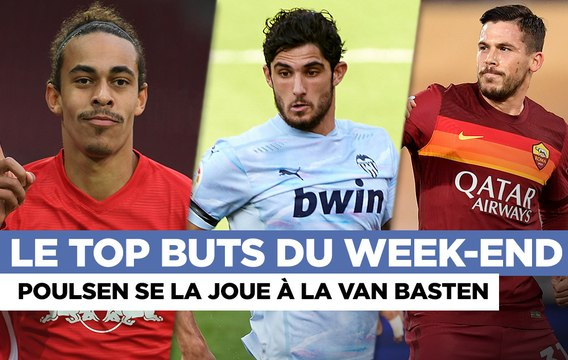Top buts : Poulsen en superstar, Guedes en force