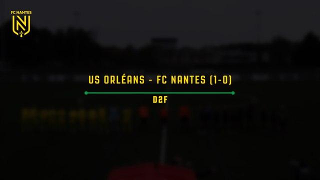 U19. Les buts de FC Nantes - EA Guingamp (1-1)