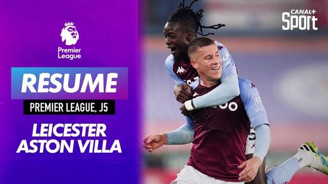 Le résumé de Leicester - Aston Villa en VO : les Villans toujours invaincus !