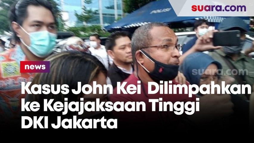 Kasus John Kei Mulai Dilimpahkan ke Kejajaksaan Tinggi DKI Jakarta