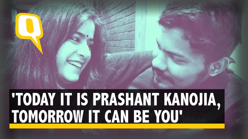 'Punished For Dissent': Journalist Prashant Kanojia's Wife Urges Support
