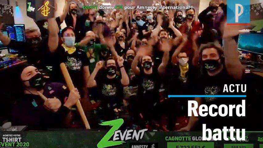 Jeux vidéo : « Z Event » récolte 5,7 millions d'euros pour Amnesty International