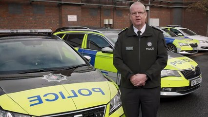 Simon Byrne Chief Constable - Uniforms