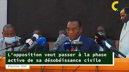 L'opposition ivoirienne veut passer à la phase active de sa désobéissance civile