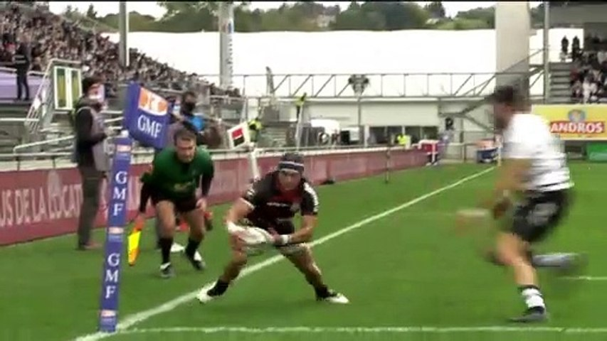 Rugby : Video - Résumé - CA Brive - Stade Toulousain - J5 Top14 2020 /2021