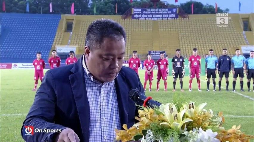 Full - Becamex Bình Dương - Viettel - VCK giải bóng đá VĐ U15 Quốc gia - Next Media 2020