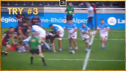 TOP 3 TRIES - MATCHDAY 5 - TOP 14 - Season 20/21