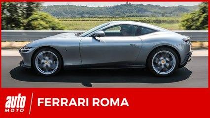 Essai Ferrari Roma : une supercar pour tous les jours ?