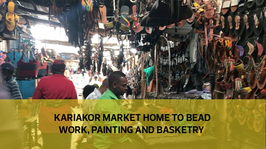 Kariakor Market home to bead work, paint and basketry-