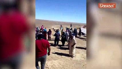 Mur de sécurité : Des manifestants du Polisario tentent de provoquer des soldats des FAR