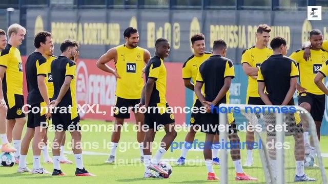 Relève d'Haaland à Dortmund, contrat en or chez Nike : voici le phénomène Moukoko