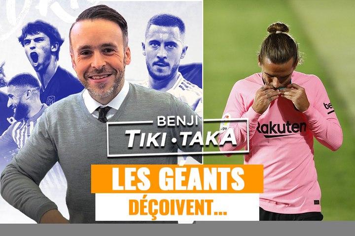 Benji Tiki Taka : Le Real et le Barça déçoivent avant le Clasico