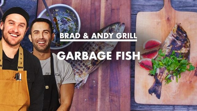 Brad and Andy Grill