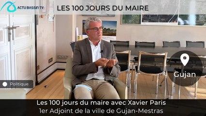 Les 100 jours du Maire Avec Xavier Paris 1er Adjoint de la mairie de Gujan