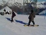 Dernière sortie de l'année les deux alpes 2008