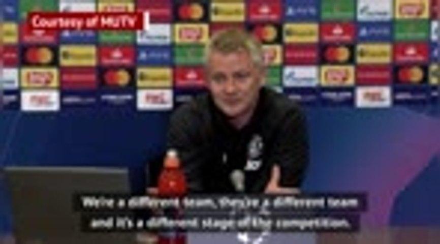 Win over PSG last year won't help United in Paris - Solskjaer