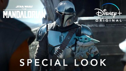 THE MANDALORIAN (S2Ep1)   Star Wars: Special Look only on  Disney+   Pedro Pascal, Gina Carano, Carl Weathers, Giancarlo Esposito