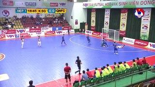Highlights | Kardiachain Sài Gòn - Quảng Nam | Futsal HDBank VĐQG 2020 | VFF Channel
