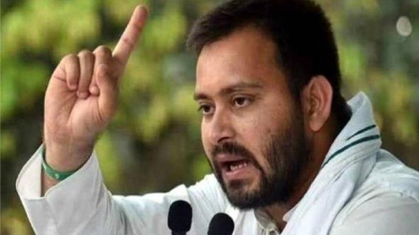 Tejashwi Yadav targets NDA, talks about alliance with LJP
