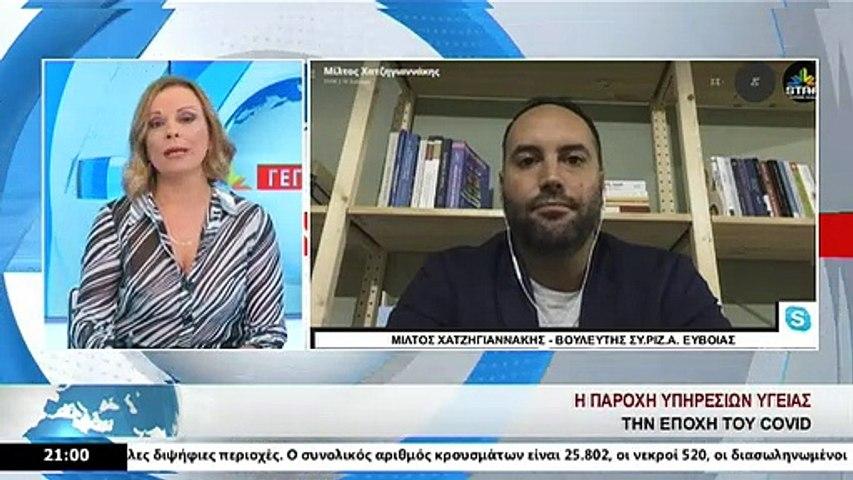 O Βουλευτής ΣΥΡΙΖΑ, Μ. Χατζηγιαννάκης, στο Star